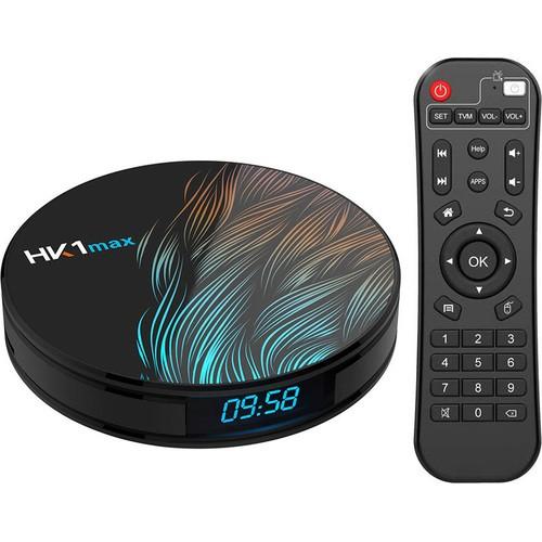 Смарт ТВ приставка HK1 Max (1000+ каналов бесплатно)